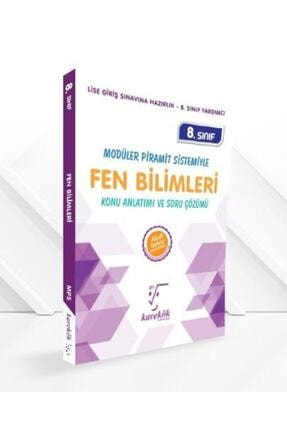 Karekök Yayınları 8.Sınıf Fen Bilimleri Konu Anlatımı ve Soru Çözümü