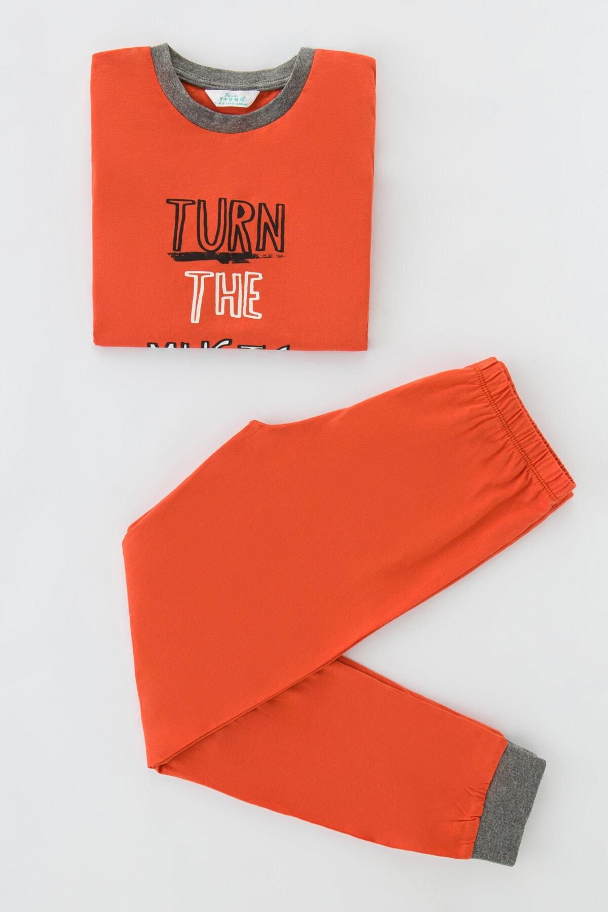 Penti Erkek Çocuk Pijama Takımı 4lü 2