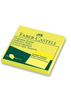 Faber Castell Yapışkanlı Not Kağıdı 75x75 mm