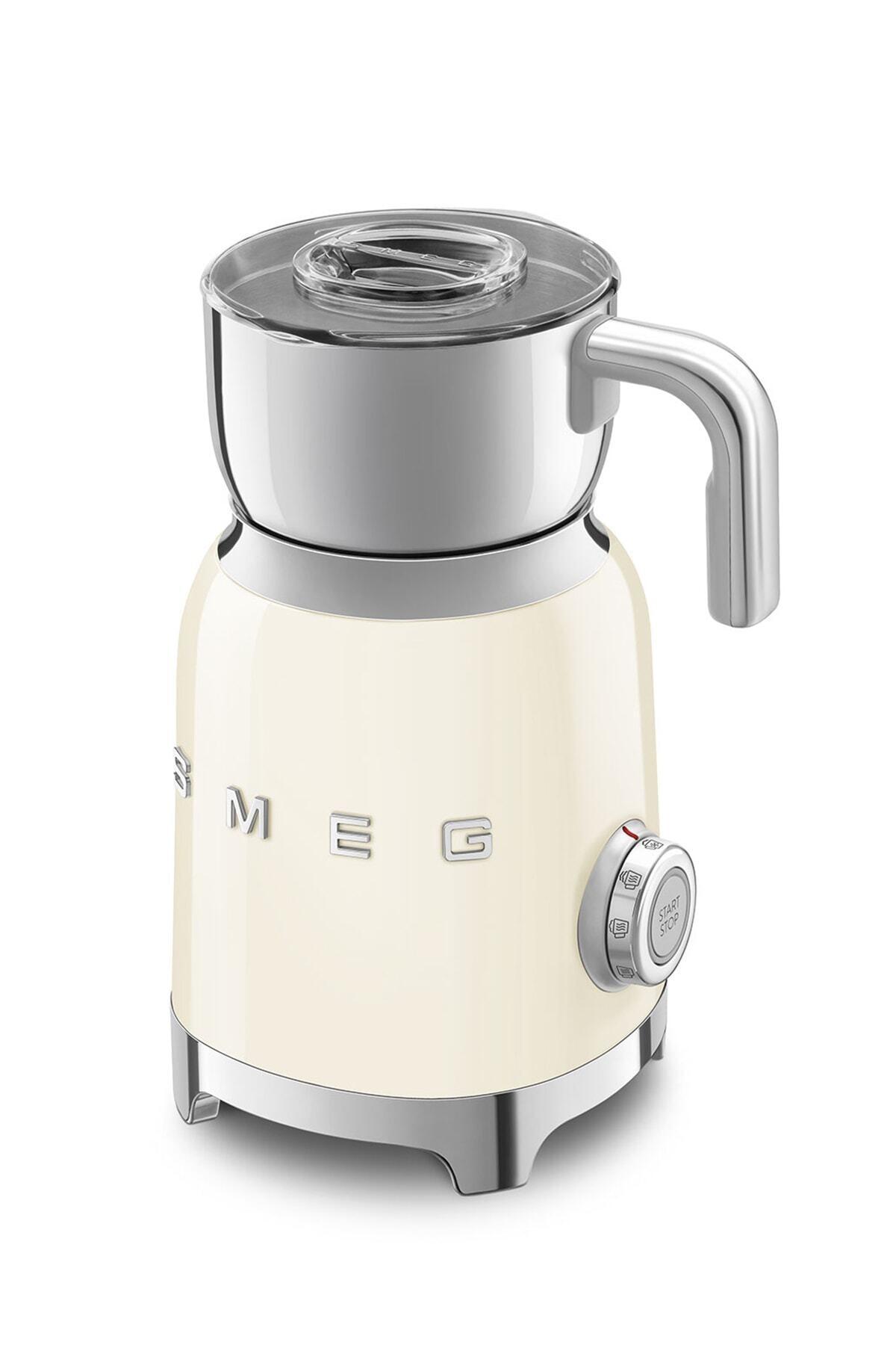 SMEG Mff01wheu Süt Köpürtme Makinesi Beyaz 1