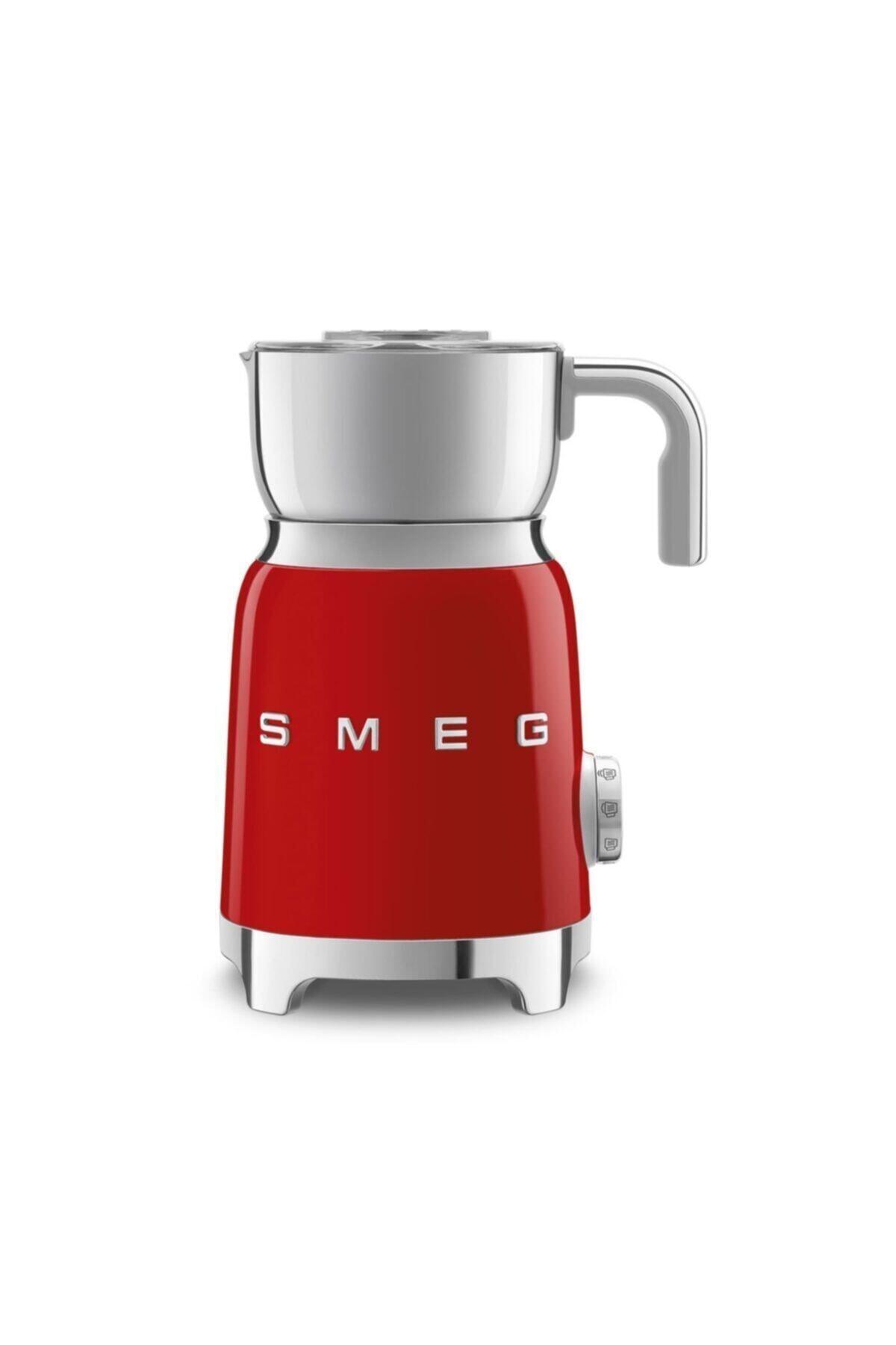 SMEG Mff01rdeu Süt Köpürtme Makinesi Kırmızı 1