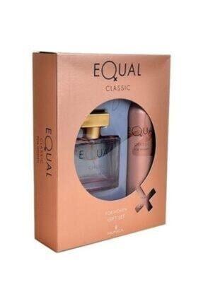 Equal Kadın Classıc Ve Sense Parfüm Seti