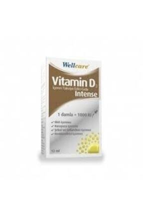 Wellcare Vitamin D3 1000 Iu Intense Damla 12 ml