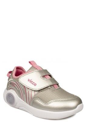 Vicco Kız  Çocuk 346.b20y.213 Gümüş Anatomik (22-25) Işıklı Ayakkabı Sneaker