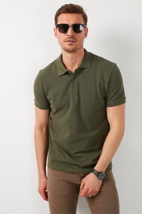 Buratti Erkek Haki Pamuklu Polo T Shirt 5902127