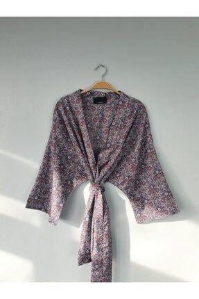 Gogoandy Desenli Kimono