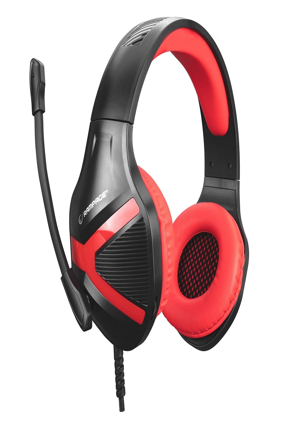 Rampage Rm-x1 Python 3,5mm Gaming Oyuncu Mikrofonlu Kulaklık 2