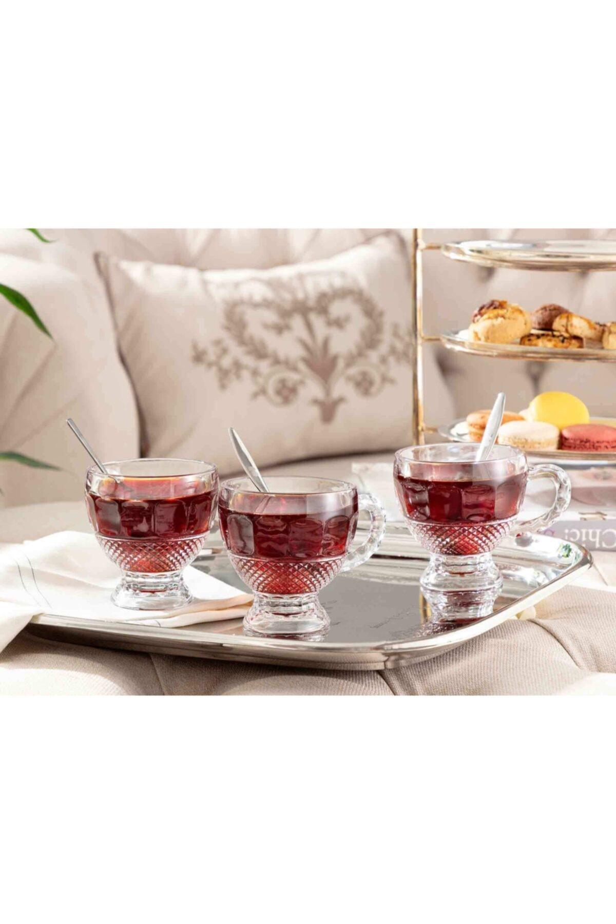 Madame Coco Perren 4'lü Çay Fincanı 1