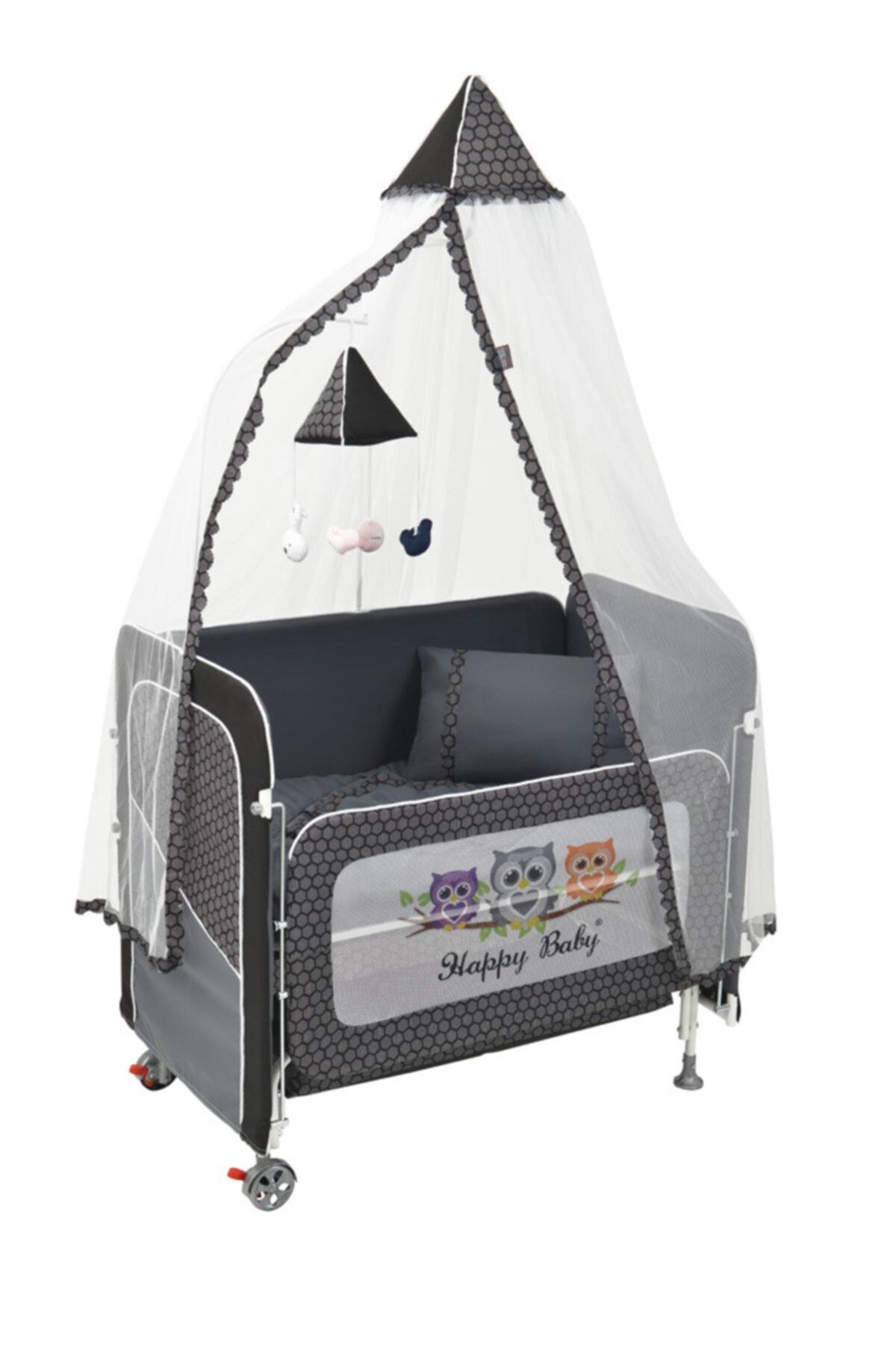 Happy Baby Plus Asansörlü Anne Yanı Beşik 2