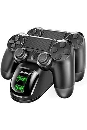 Dobe Ps4 Slim Pro Dual Charging Dock Göstergeli Şarj Istasyonu Playstation 4 Göstergeli Pinli Dock