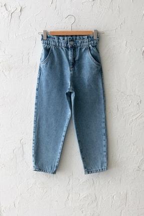 LC Waikiki Kız Çocuk Asid Yıkamalı 502 Jeans