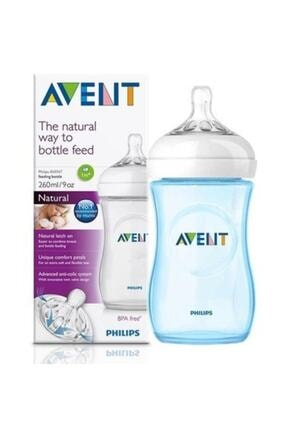 Philips Avent Mavi Natural Pp Biberon 260 ml Tekli