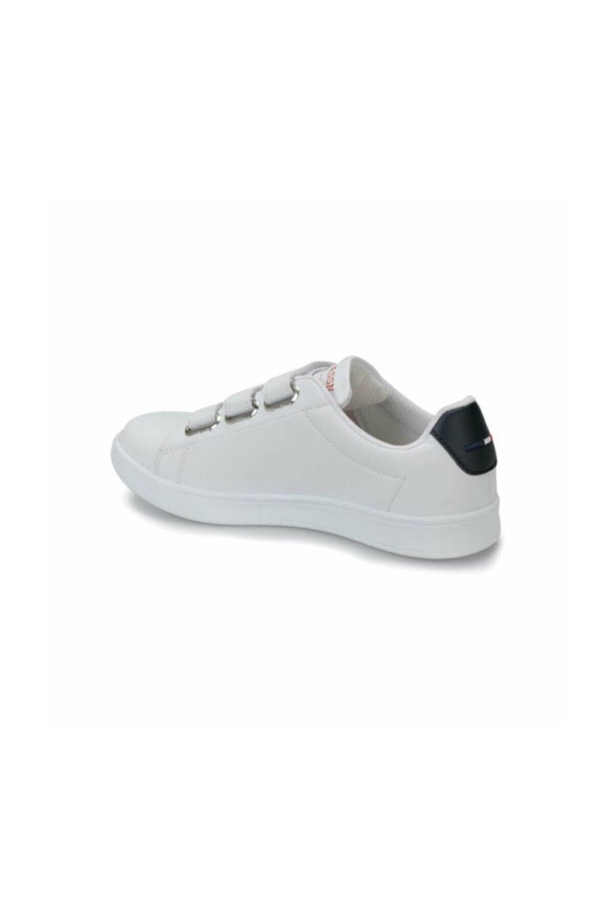 U.S. Polo Assn. SINGER Beyaz Kadın Sneaker Ayakkabı 100279016 2