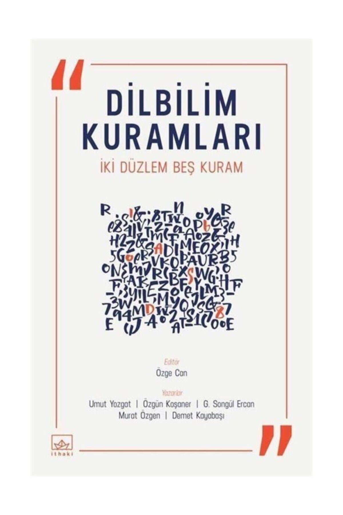 İthaki Yayınları Dilbilim Kuramları & Iki Düzlem Beş Kuram 1