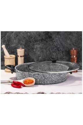Taç Ultra Granit Basık Tencere 30 Cm Pilav Tenceresi-3405