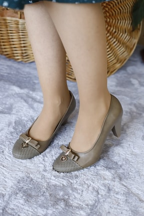 PUNTO Kadın Gündelik Klasik Topuklu Ayakkabı
