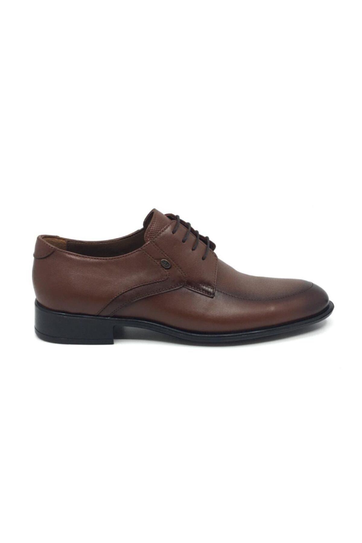 Taşpınar Erkek Kahverengi Bağcıklı Klasik Yazlık Ayakkabı 2