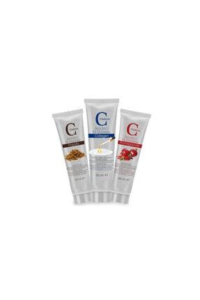 Claderm 50ml 3'lü (propolis-collagen-pomegranate) Avantaj Paketi