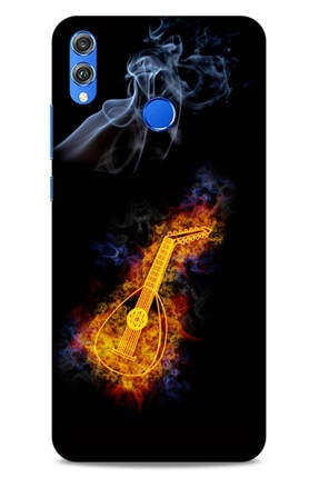 Lopard Huawei Honor 8x Uyumlu Siyah   Kılıf Firex (11) Tam Koruma Ut