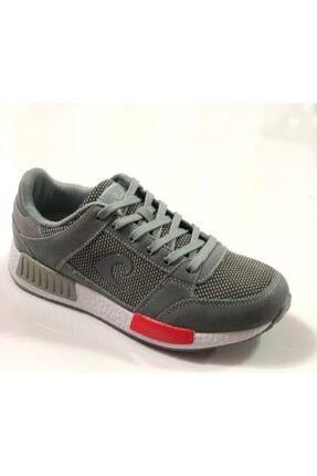 Pierre Cardin Unısex Gri Bağcıklı Spor Ayakkabı Pcs-70845