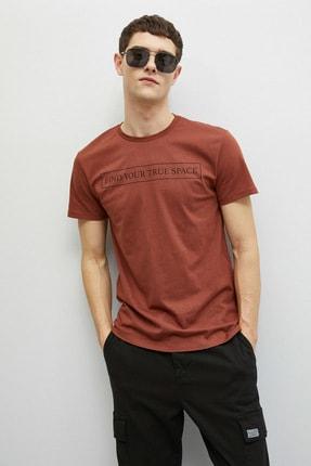 Koton Erkek Kiremit  T-Shirt 1YAM11391CK