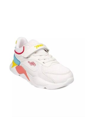 Jump Unisex Çocuk Beyaz Günlük Ayakkabı
