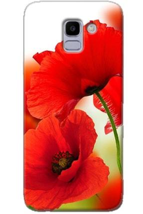 Turkiyecepaksesuar Samsung Galaxy J6 Uyumlu Kılıf + Temperli Ekran Koruyucu Cam