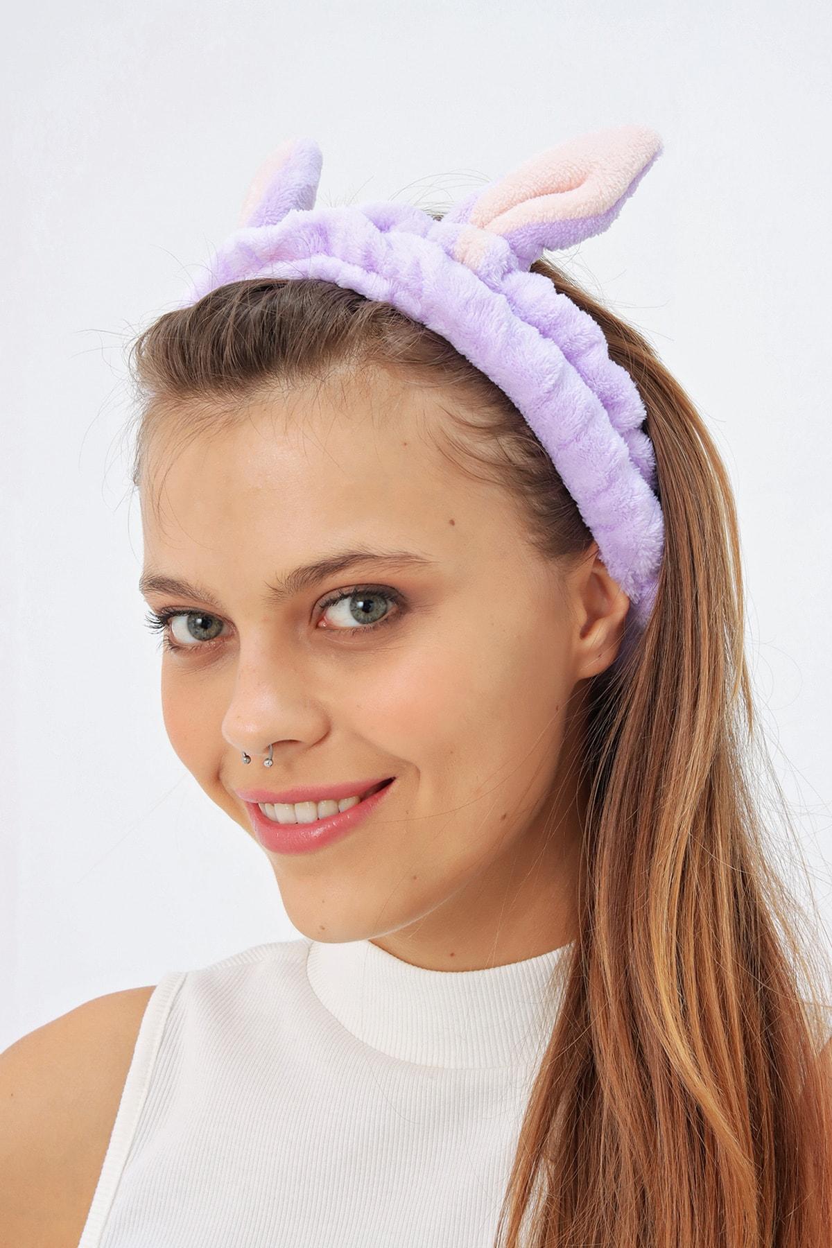 Ecrou Tavşan Kulaklı Saç Bandı 1