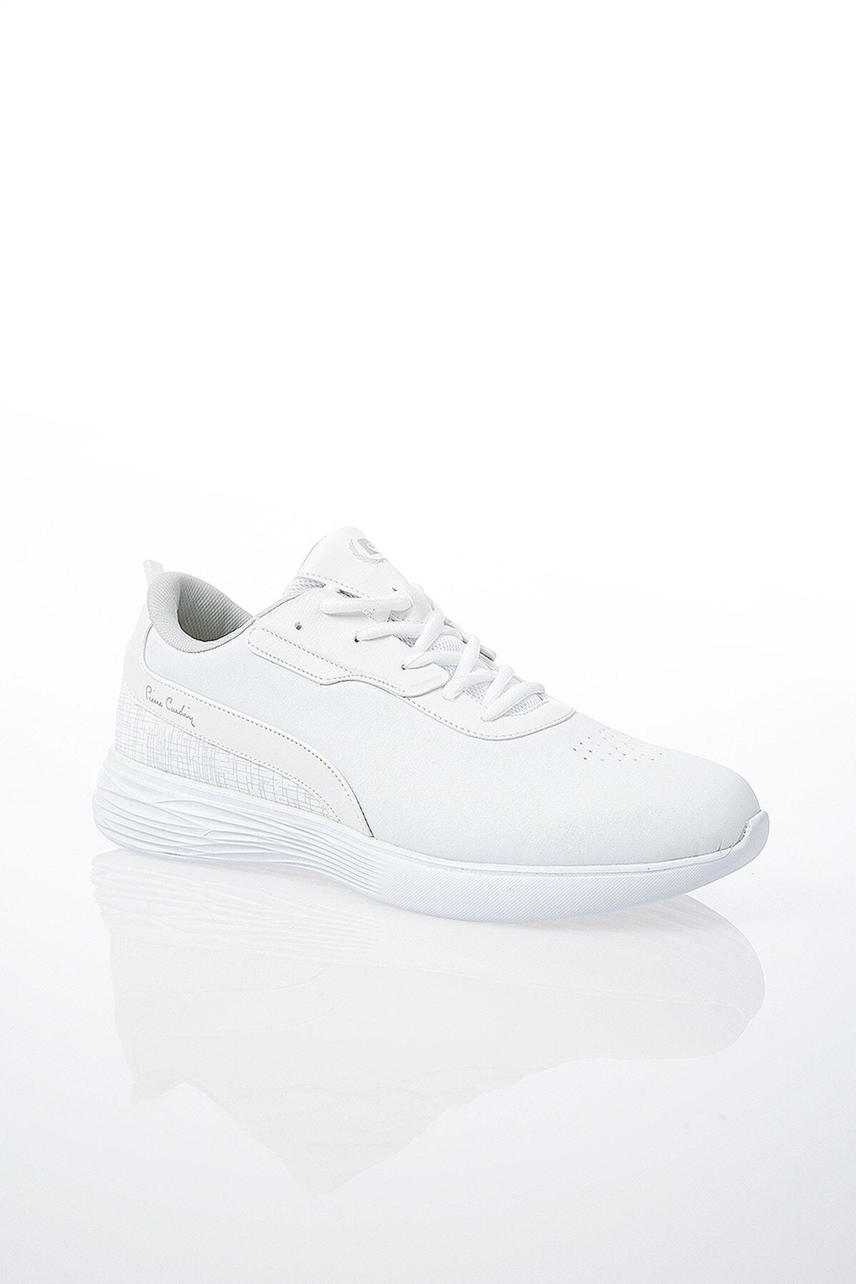 Pierre Cardin PC-30492 Beyaz Erkek Spor Ayakkabı 2