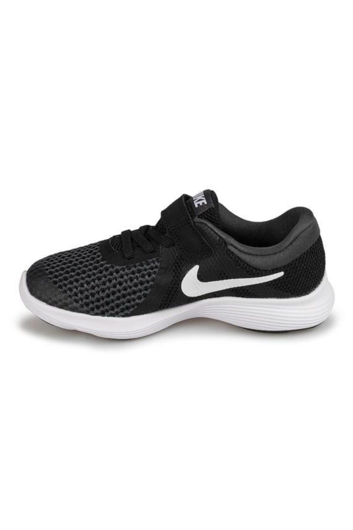 Nike Erkek  Çocuk Siyah Bantlı Spor Ayakkabı 2