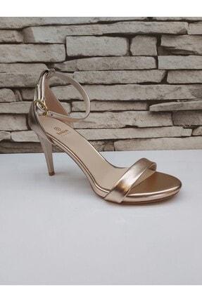 Musto Shoes Alçak Tek Bant Topuklu Ayakkabı