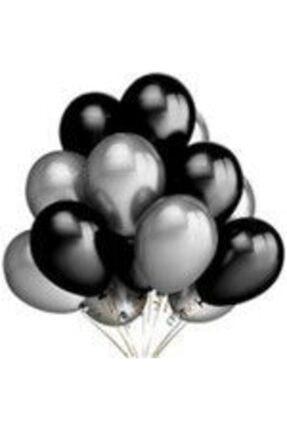 EXİZTİCARET Metalik Sedefli Balon 50 Adet Helyum Gazına Uyumlu Uçan Balon