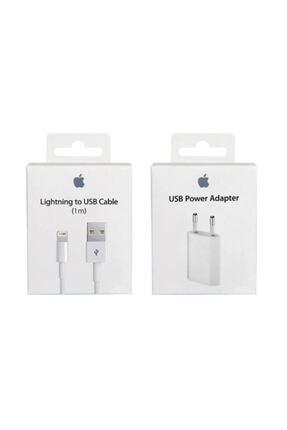 Gate Iphone Orjinal Şarj Aleti+kablo 5/5s 6/6s 7 8 Ve Plus X Max