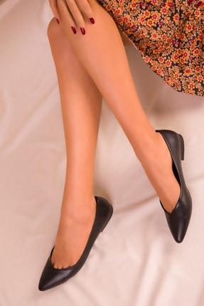 SOHO Siyah Mat Kadın Babet 15260