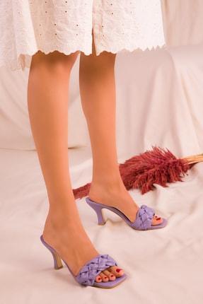 SOHO Mor Kadın Klasik Topuklu Ayakkabı 15992
