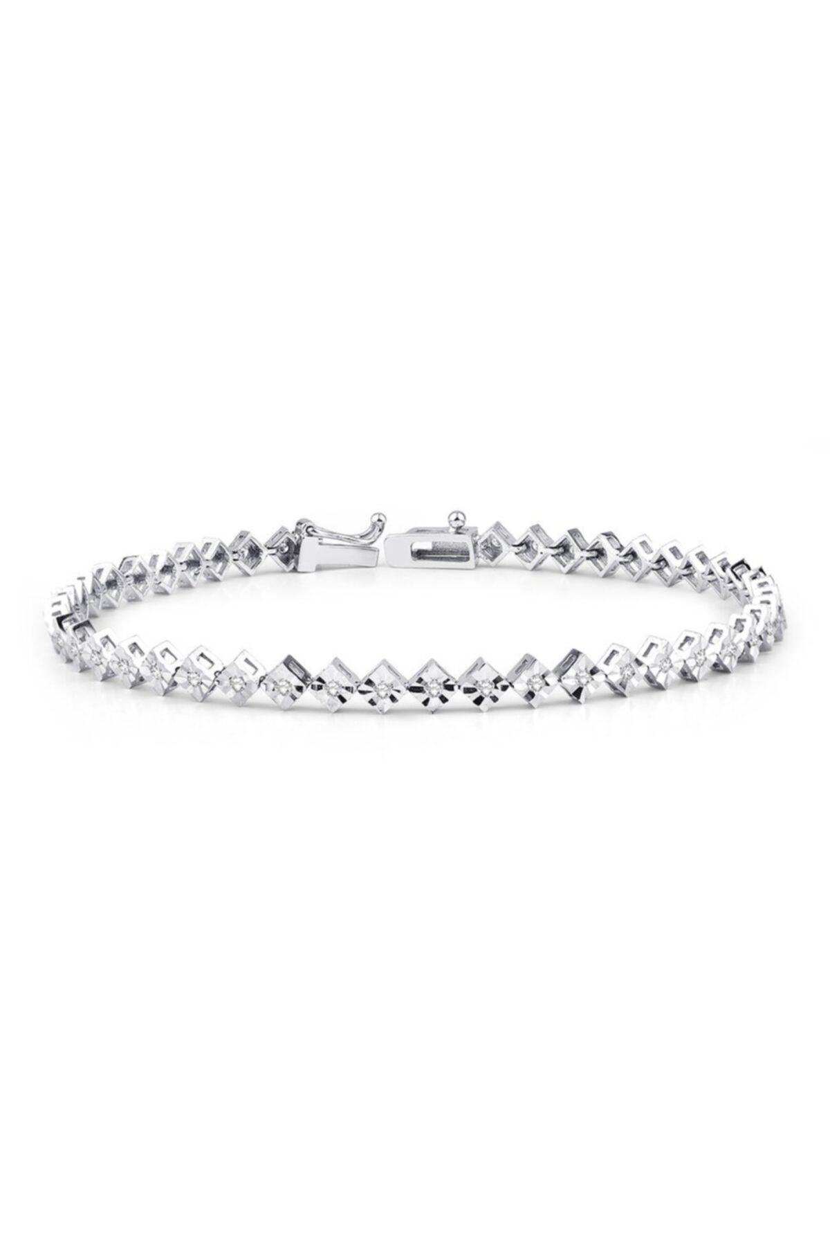 Yetkin Diamond 0.35 Karat Pırlanta Suyolu Bileklik 1