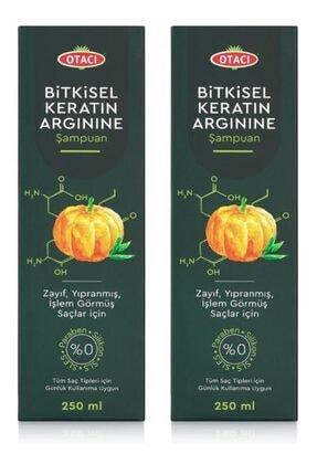 Otacı Bitkisel Keratin Arginine Şampuan 250 Ml X 2 Adet