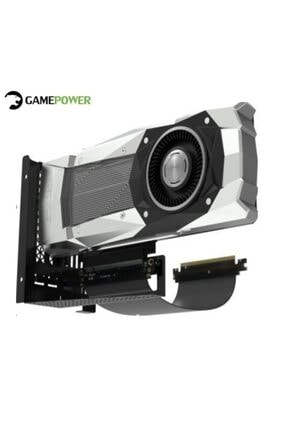 GamePower Vertical Gpu Holder Universal Dikey Ekran Kartı Tutucu ( Warcry Ve Tüm Modeller Için)