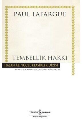 İş Bankası Kültür Yayınları Tembellik Hakkı