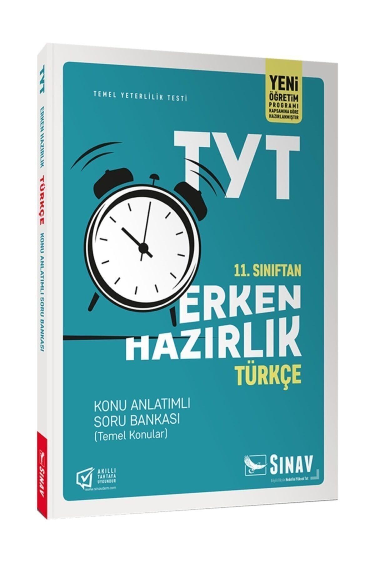 Sınav Yayınları 11. Sınıf Tyt Erken Hazırlık Türkçe Konu Anlatımlı Soru Bankası 1