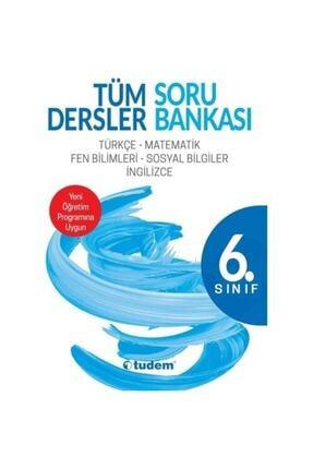Tudem Yayınları Tudem 6.sınıf Tüm Dersler Soru Bankası