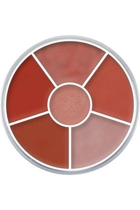 Kryolan Ruj Çarkı Lip Rouge Wheel 6 Renk 30 gr 01216 B