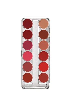 Kryolan Ruj Paleti Lip Rouge Palette 12 Colors 01204 Classıc2 12li