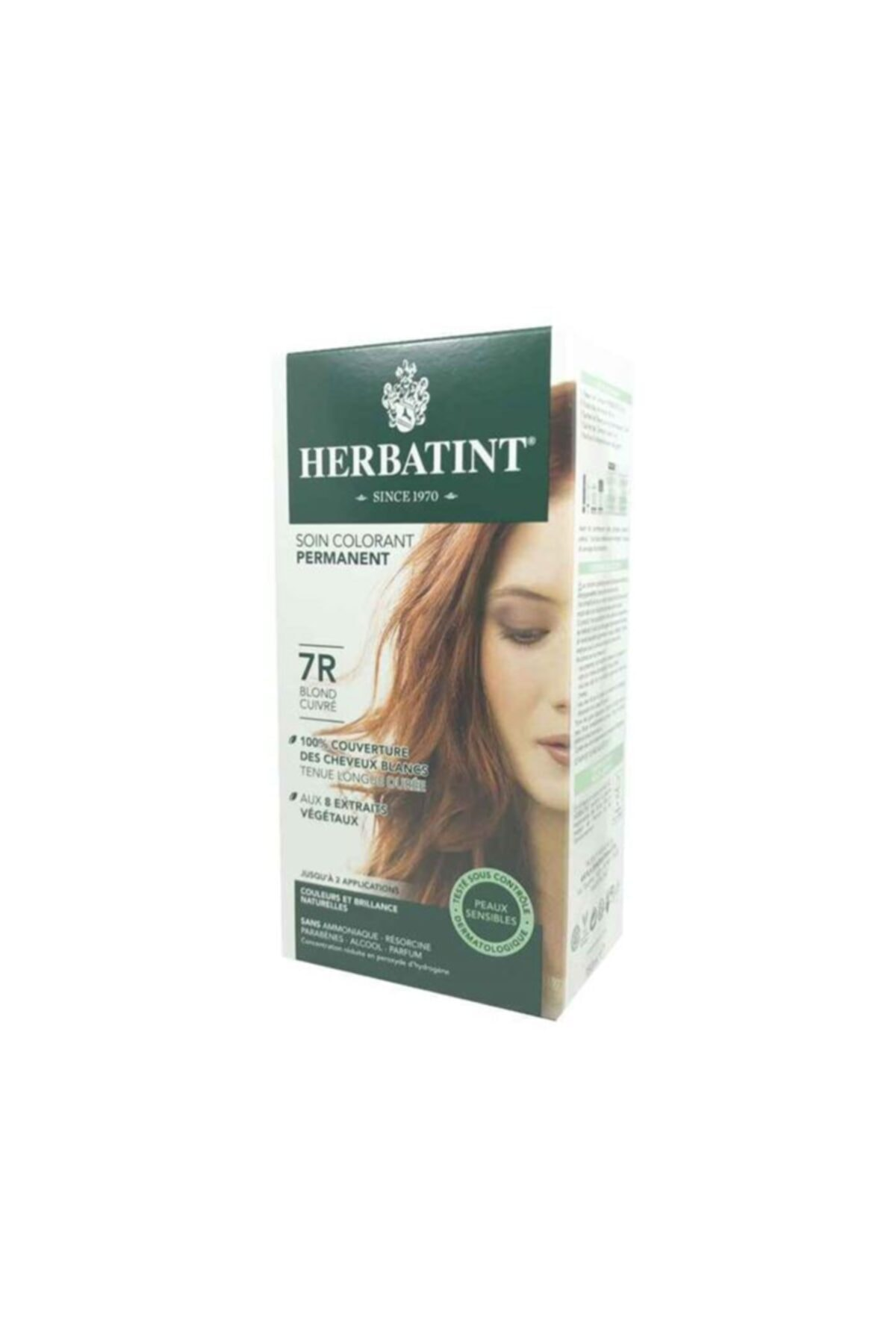Herbatint 7r Blond Cuivre Copper Blonde Saç Boyası 1