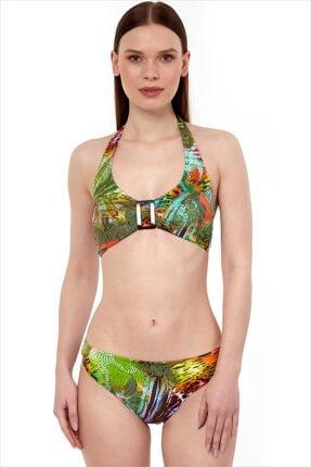 AYYILDIZ Kadın Yeşil Toparlayıcı Bikini Takımı 40693