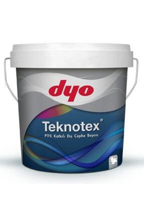 Dyo Teknotex Silikonlu Teflonlu Dış Cephe Boyası 2,5 Lt (3,5 Kg) Pastel Aşı