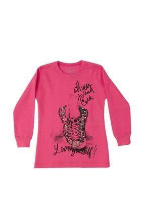 Pattaya Kids Kız Çocuk Içi Şardonlu Selanik Sweatshirt P-pm06368