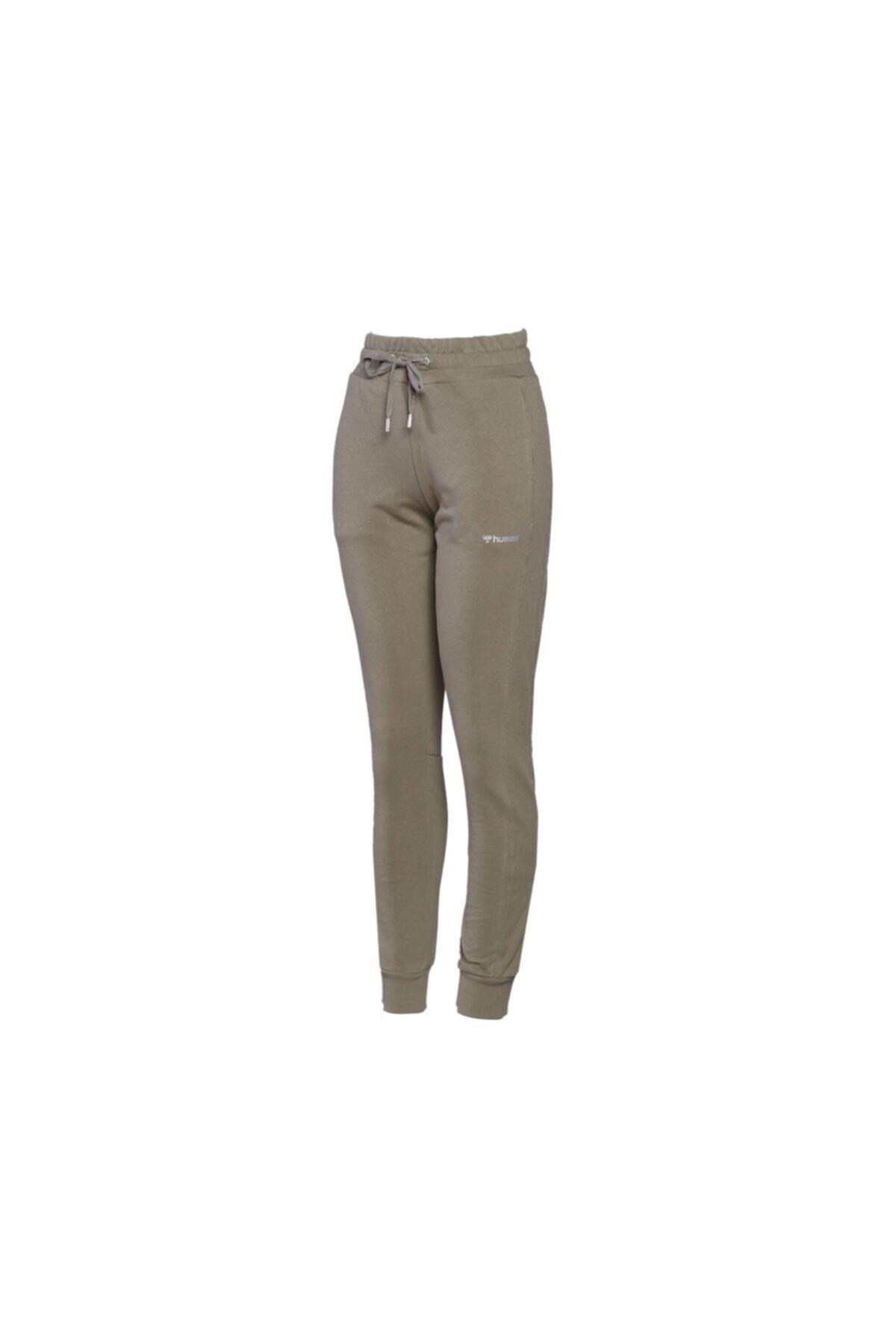 HUMMEL Kadın Günlük Eşofman Altı 931108-8062 Yeşil Hmlons Pants 1