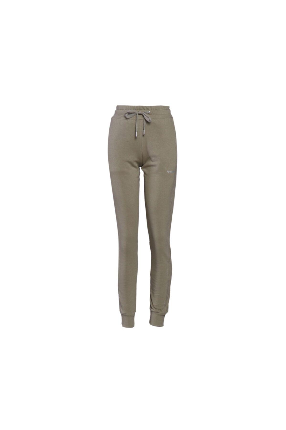 HUMMEL Kadın Günlük Eşofman Altı 931108-8062 Yeşil Hmlons Pants 2