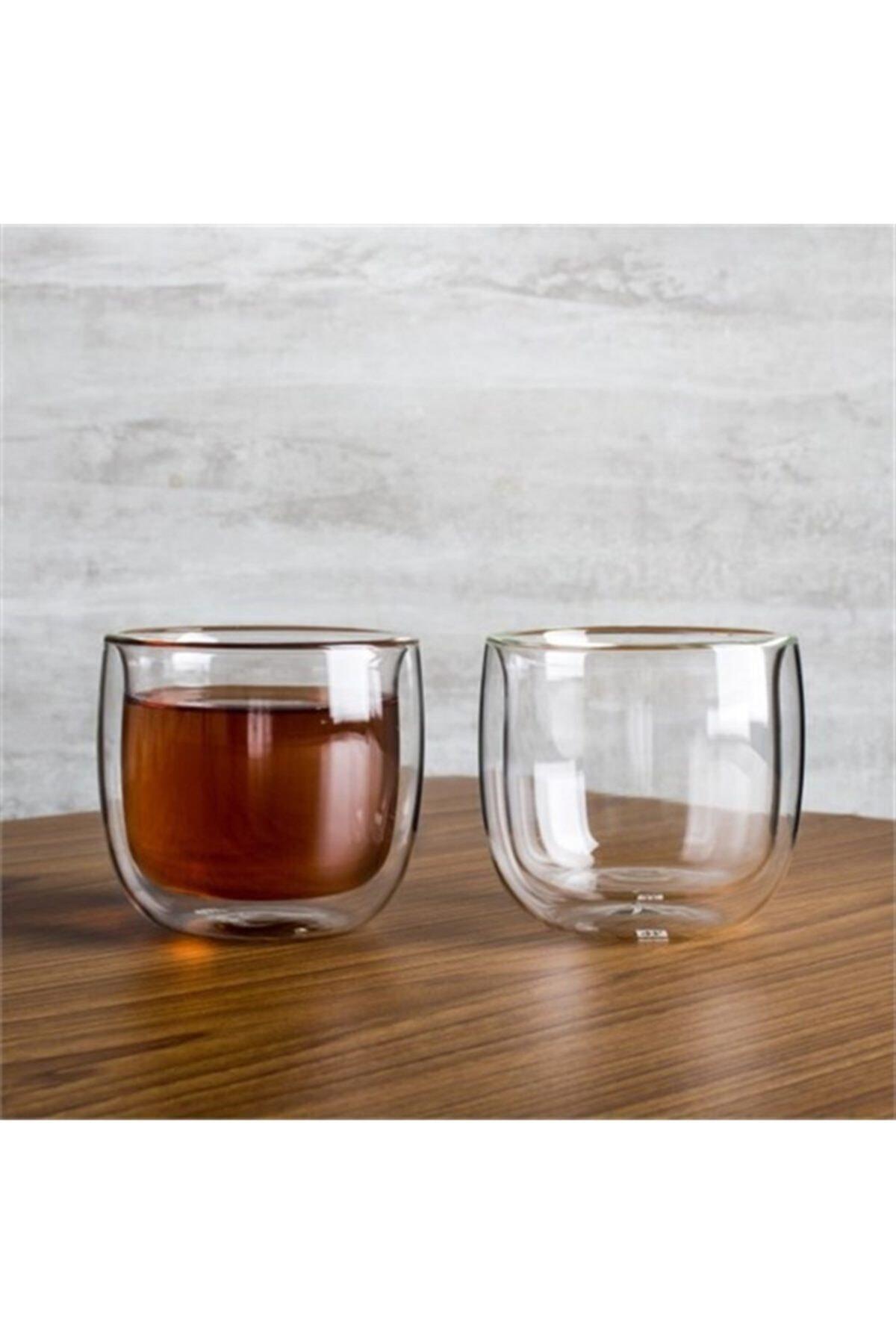 ZWILLING Sorrento Çift Camlı 2'li Çay Bardağı Seti 240 ml 395000770 2